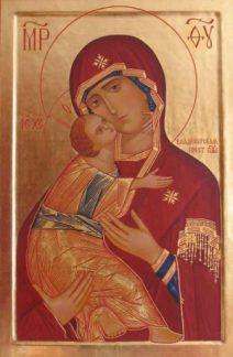 Vladimirskaya Bogoroditza_Icon
